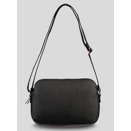 Black Slim Cross-Body Bag