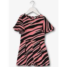 Pink Zebra Print Playsuit (3-16 Years)