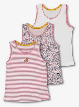 The Gruffalo Pink Vests 3 Pack