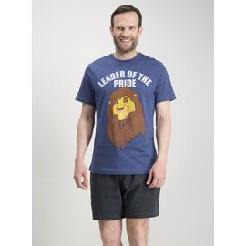 Disney Lion King Navy Short Pyjamas