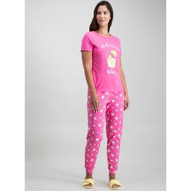 Pink 'Let The Evening BeGin' Pyjamas