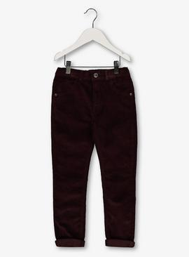 Brown Needlecord Trousers