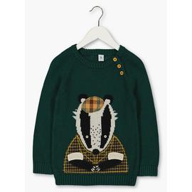 Dark Green Badger Jumper