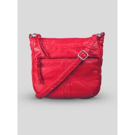 Online Exclusive Red Washed Cross-Body Bag - One Size