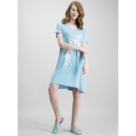 Teal Lace Trim 'It Was All A Dream' Nightdress