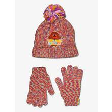 Hey Duggee Multicoloured Hat & Gloves Set