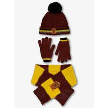 Harry Potter Red Hat, Scarf & Gloves Set