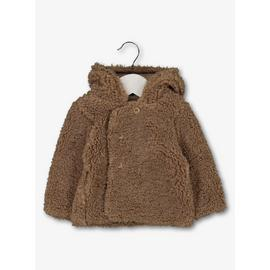 Brown Borg Bear Hooded Jacket