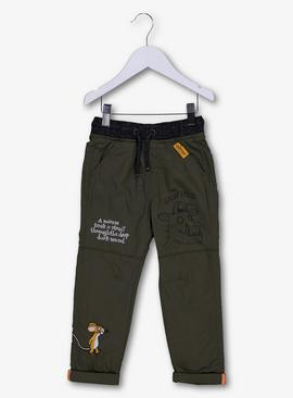 The Gruffalo Khaki Green Lined Trousers