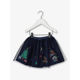 Christmas Navy Tutu Skirt