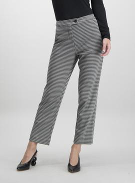 Black & White Mini Houndstooth Trousers