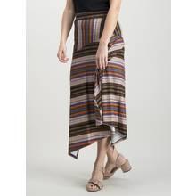 Multicoloured Craft Stripe Maxi Skirt