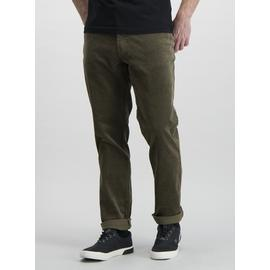 Green Slim Fit 5 Pocket Jumbo Corduroy Trouser With Stretch