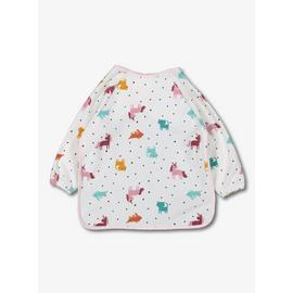 Multicoloured Unicorn Long-Sleeved Bib - One Size