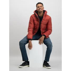 Online Exclusive Rust Red Eco Thermolite Padded Coat