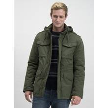 Khaki Winter Wadded Jacket