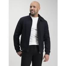 Navy Wool Rich Harrington Jacket