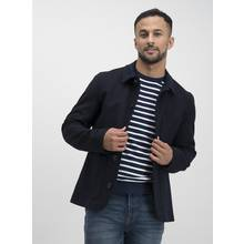 Navy Wool Rich Chore Jacket