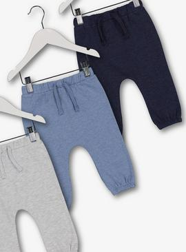 Navy & Grey Jogger 3 Pack