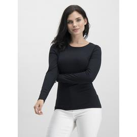 PETITE White Luxe Long Sleeve T-Shirt