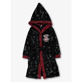 Harry Potter Black Dressing Gown