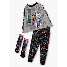 Marvel Avengers Multicoloured Pyjamas & Socks