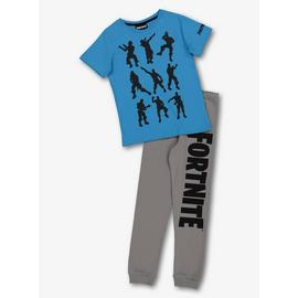 Fortnite Blue & Grey Pyjamas