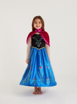 Disney Frozen Blue Anna Costume - 3-4 Years