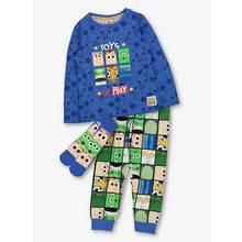 Disney Toy Story 'Toys At Play' Blue Pyjamas & Sock Set