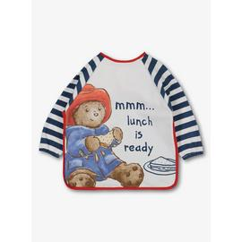 Paddington Bear Multicoloured Long Sleeve Bib - One Size