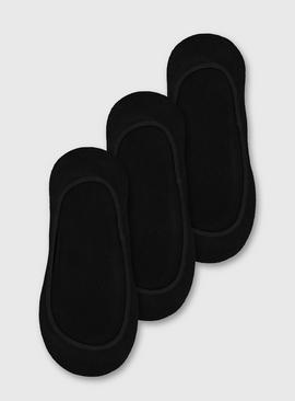 Black Footsie 3 Pack