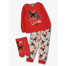 Bing Red Pyjama & Socks Set