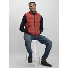 Rust Eco Thermolite Shower Resistant Padded Gilet