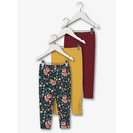 Multicoloured Enchanted Forest Legging 3 Pack