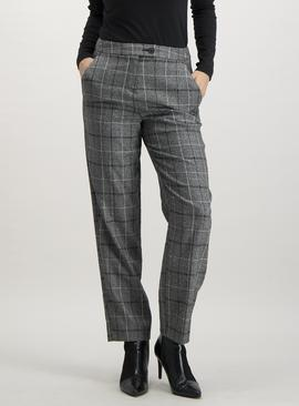 Monochrome Check Trouser