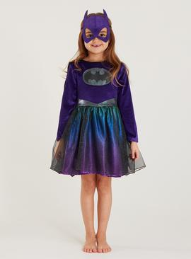 DC Batgirl Purple Costume - 3-4 Years
