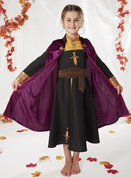 Disney Frozen 2 Black Anna Costume - 9-10 years