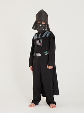Star Wars Black Darth Vader Costume - 9-10 years