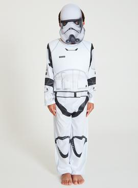 Disney Star Wars White Stormtrooper Costume - 9-10 years