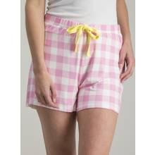 Pink & White Gingham Pyjama Shorts