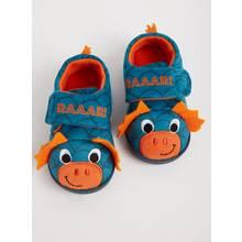 Blue & Orange Dragon Full Slippers