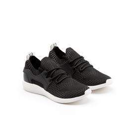 LOVE OUR PLANET Black Sustainable Vegan Trainer