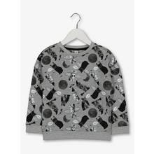 Halloween Grey Cat Sweatshirt