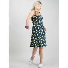 PETITE Lemon Print Jersey Dress