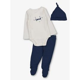 Navy & White 3 Piece Starter Set