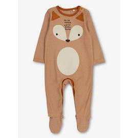 Multicoloured Fox Sleepsuit