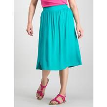 PETITE Turquoise Full Midi Skirt