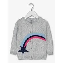 Grey Star Gazer Appliqué & Sequin Cardigan