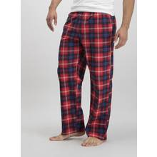 Multicoloured Check Fleece Pyjama Bottoms 2 Pack