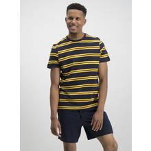 Navy & Mustard Stripe Pyjamas